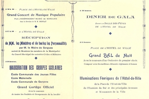 1933 inauguration groupes scolaires