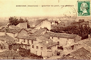 Sorgues - quartier du pont