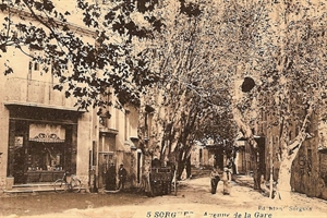 1916 Sorgues - Avenue de la gare