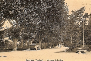 1949 Sorgues - Avenue de la gare