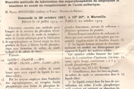 1919  brevet d'invention mourizard
