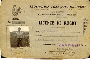 1923  rugby