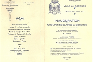 1933 (09 07) inauguration groupes scolaires