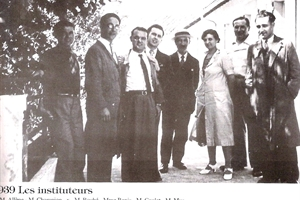 1938 /39/40/41/42 :les instituteurs et institutrices à jean jaures – Version 2